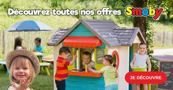 Smoby offre catalogue Plein Air