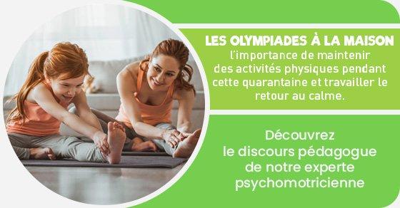 idées d'activités physiques et relaxantes pour les enfants pendant le coronavirus