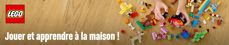 LEGO APPRENDRE A LA MAISON