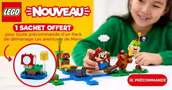 LEGO-OFFRE-CHAMPIGNON-OFFERT super mario