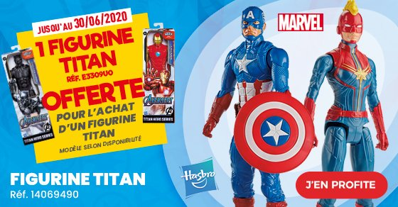 MARVEL-FIGURINE-TITAN offre printemps