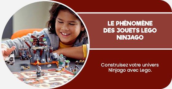 Construisez votre univers Ninjago avec Lego.