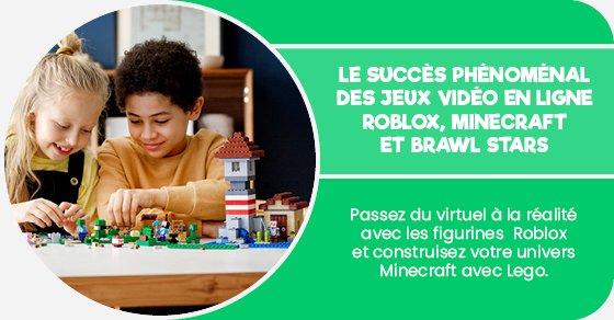 Passez du virtuel à la réalité avec les figurines Roblox et construisez votre univers Minecraft avec Lego