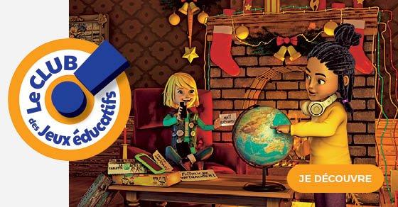 bannière noël 2020 club jeux éducatifs