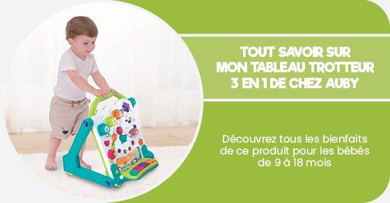 Découvrez tous les bienfaits de ce produit pour les bébés de 9 à 18 mois
