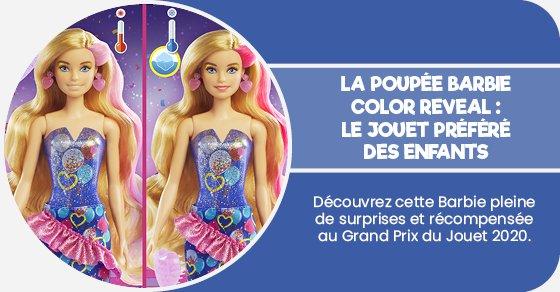 Découvrez cette Barbie pleine de surprises et récompensée au Grand prix du Jouet