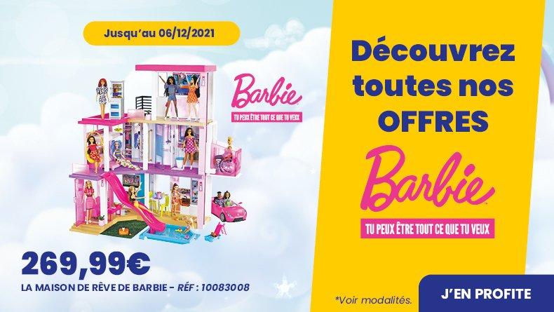Mattel barbie offre noel