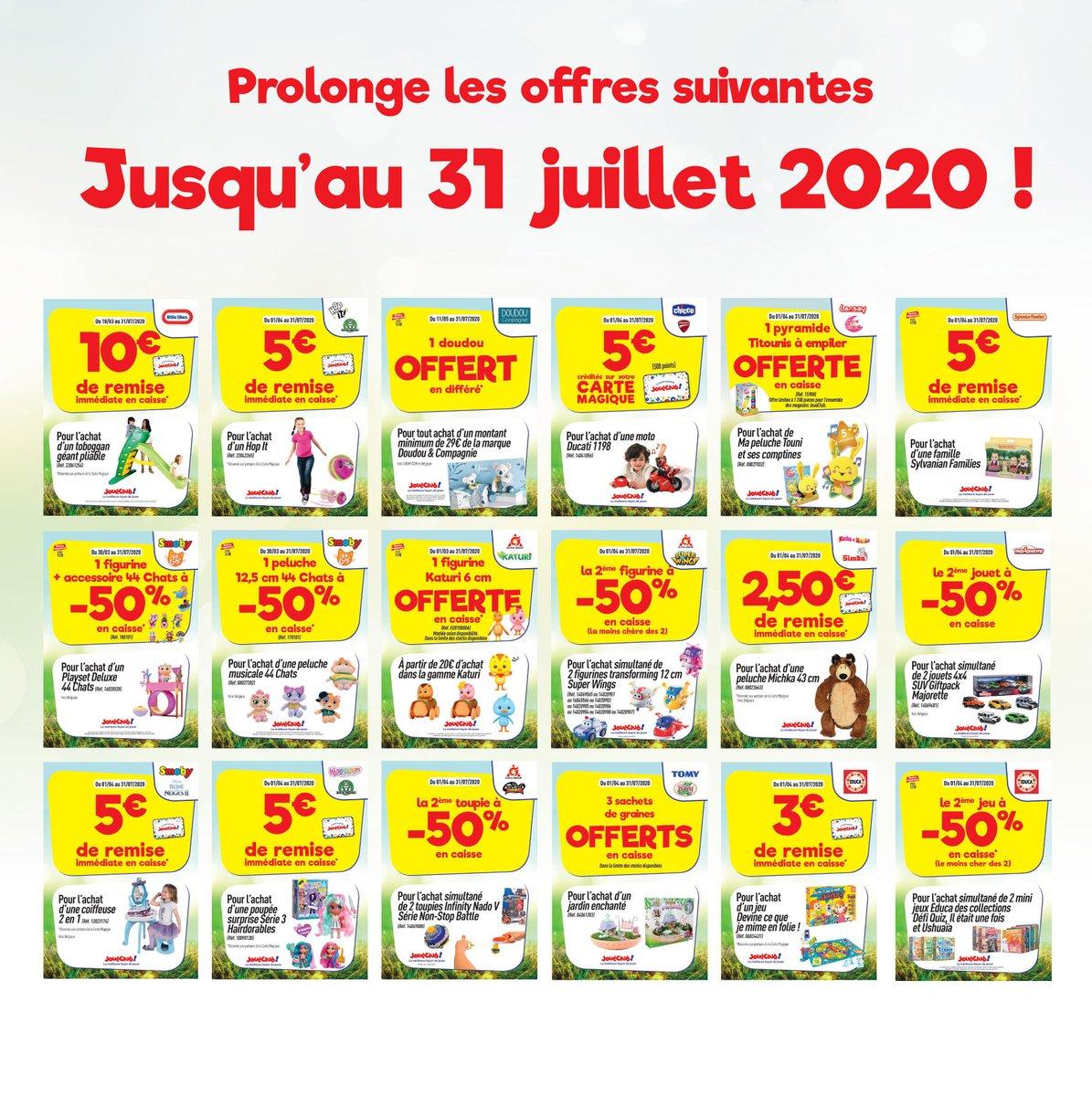 Affiche offres catalogue printemps 2020 - 2