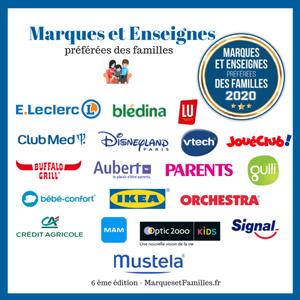 Trophées Marques et enseignes préférées des familles-2020