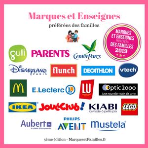 Trophées des marques et enseignes préférées des familles-2019