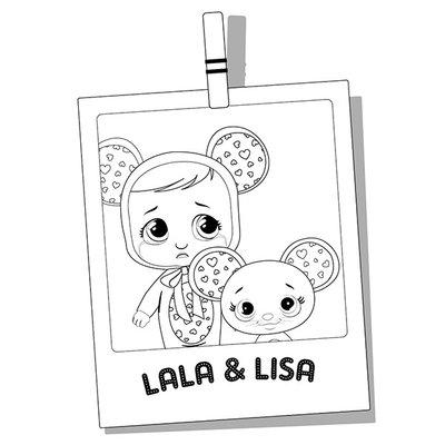 COLORIAGE A IMPRIMER GRATUITEMENT IMC TOYS cry_babies_Lala-Lisa-polaroid