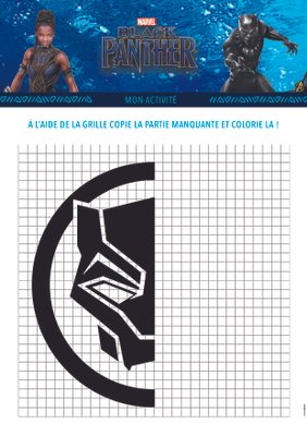 Jeux a imprimer gratuitement disney marvel BlackPanther_2