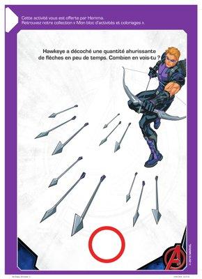Jeux Hawkeye disney  a imprimer gratuitement Avengers-1