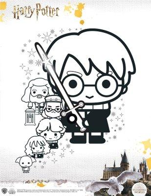 activité jeu a imprimer gratuitement Harry potter