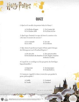 activité jeu a imprimer gratuitement Harry potter 3