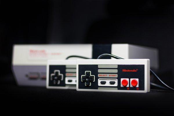 Console Nintendo vintage