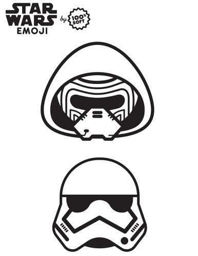 coloriage star wars_Emoji-coloringbook-4