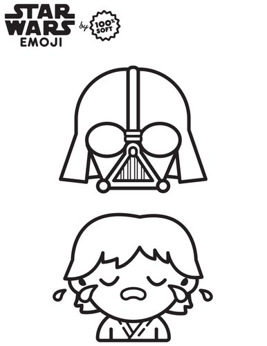 coloriage star wars_Emoji-coloringbook-5