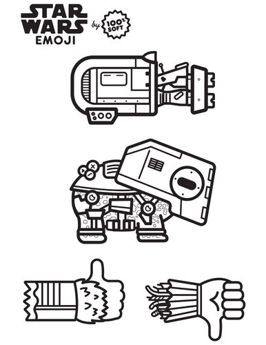 coloriage star wars_Emoji-coloringbook-6
