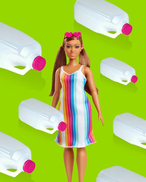 Poupée Barbie aime l'Ocean recyclable
