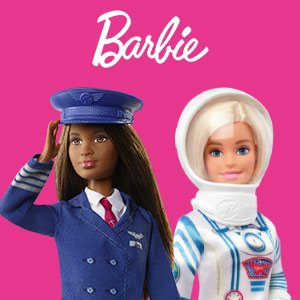 BARBIE LES METIERS