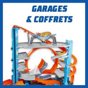 HOT WHEELS - LES GARAGES