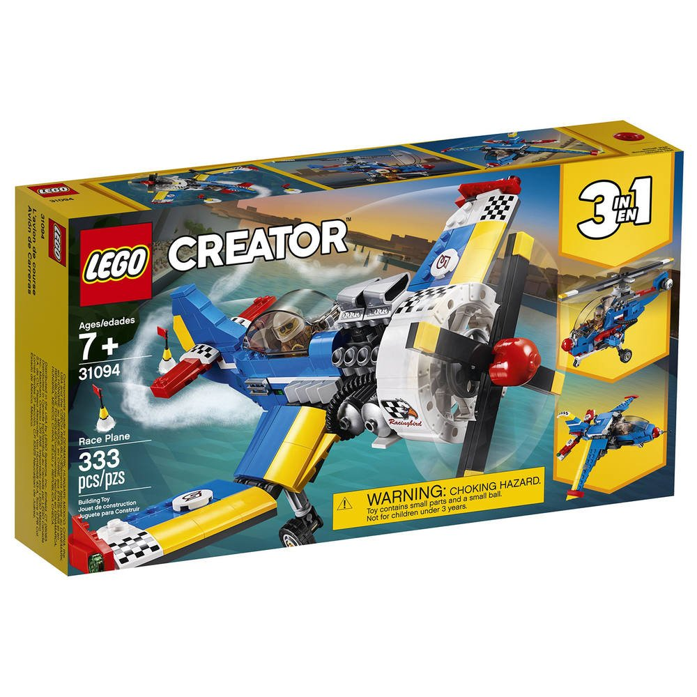 Coloriage Avion De Voltige.Lego 31094 L Avion De Course Jeux De Constructions