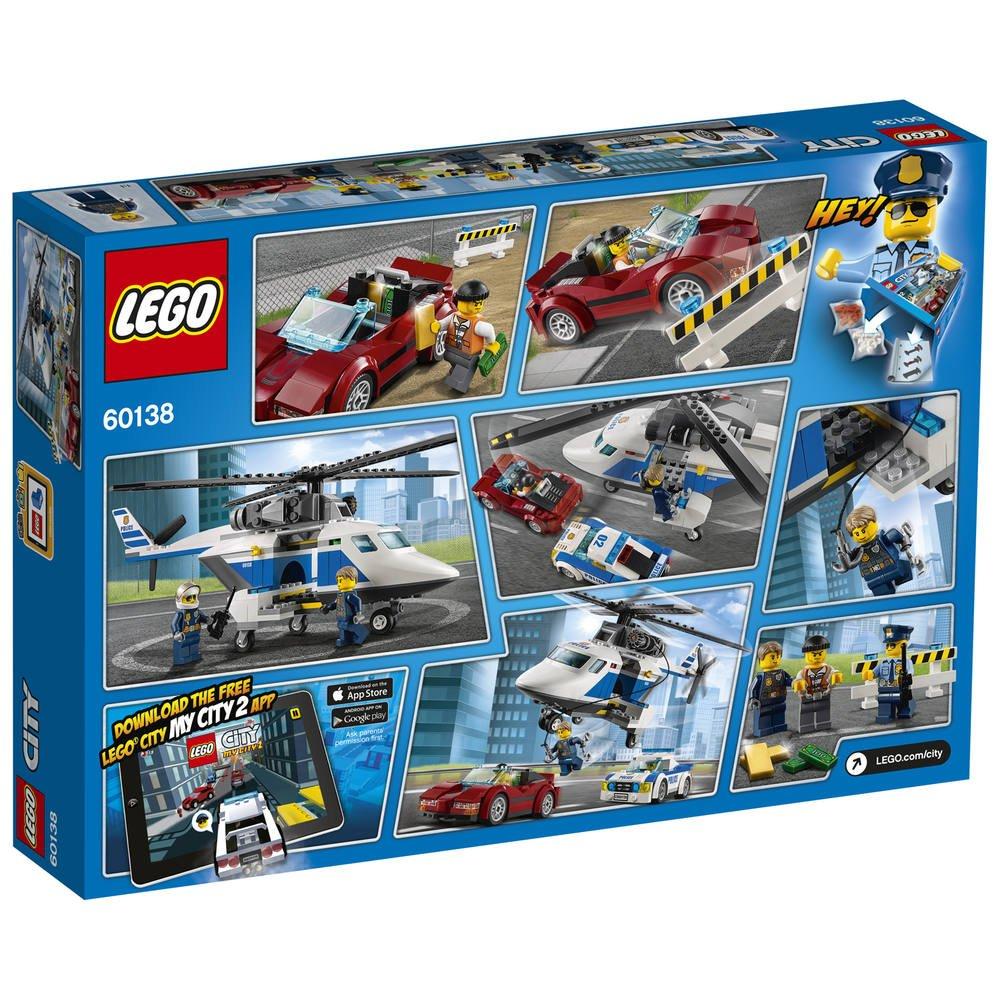 Lego Course La En De HelicoptereJeux Poursuite 60138 S4RqAj3Lc5