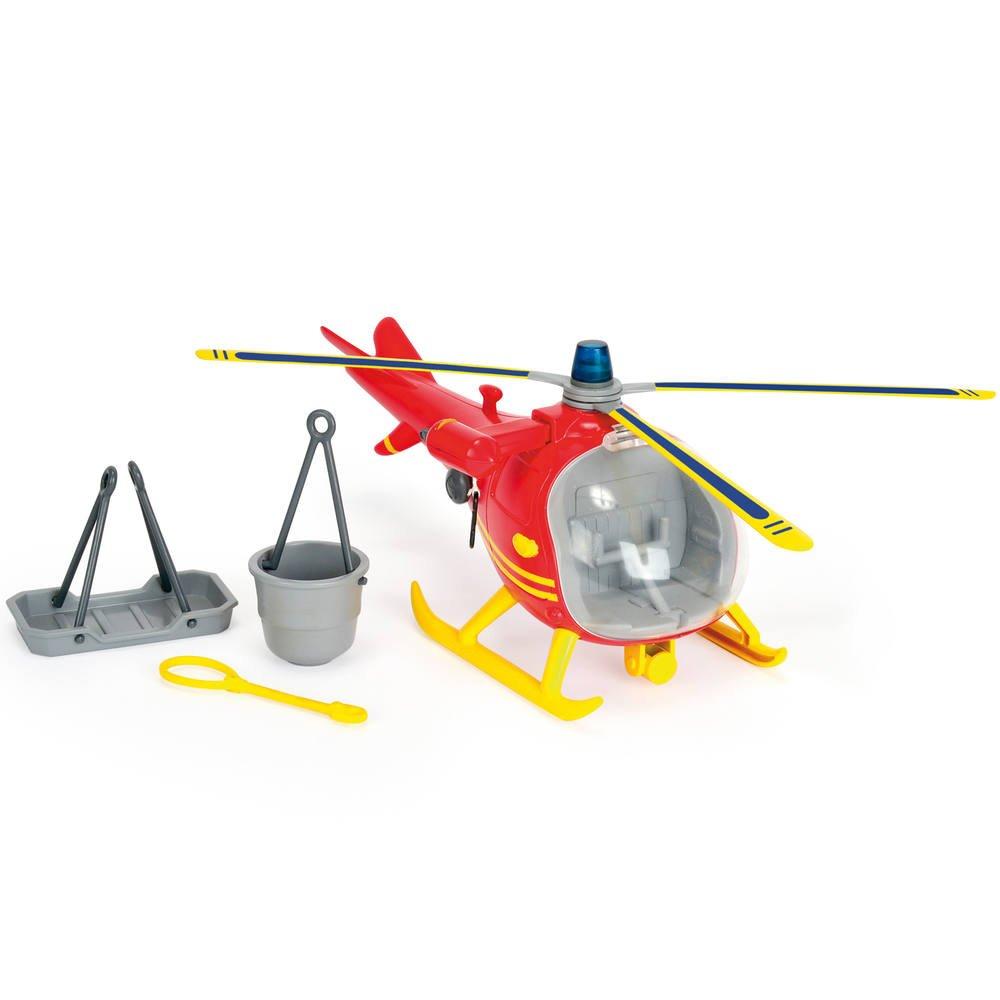 Sam Le Pompier Ocean Helicoptere Et 1 Figurine Vehicules Garages Joueclub