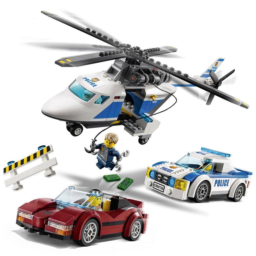 60138 Course De Lego Poursuite La HelicoptereJeux En HE9D2YIW