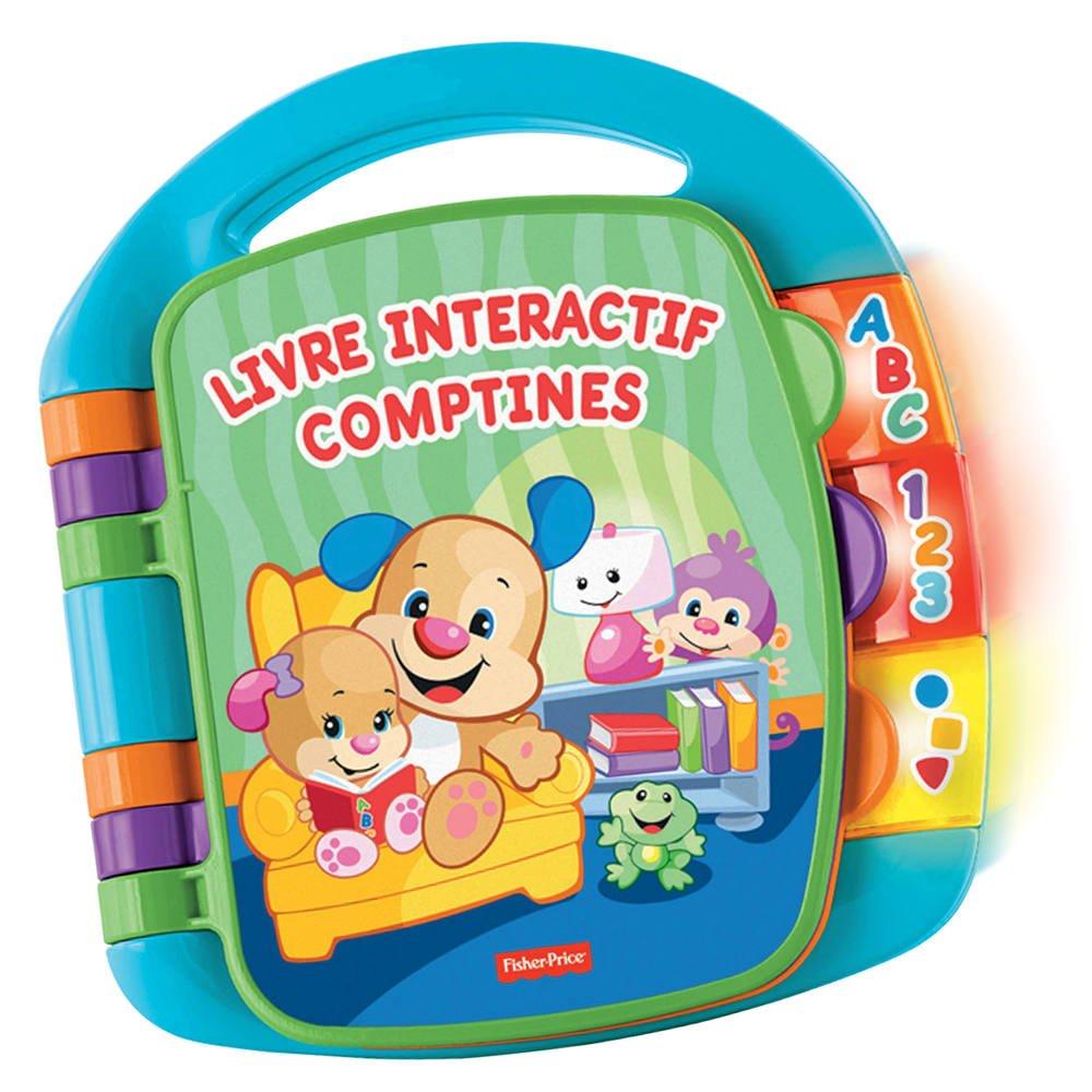 Livre Interactif Comptines Jouets 1er Age Joueclub