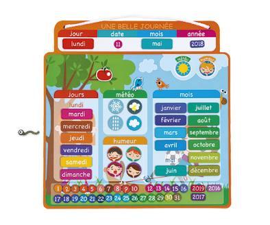 Agenda Magnetique Une Belle Journee Jouets 1er Age Joueclub