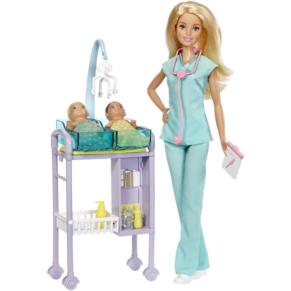 Poupee barbie coffret docteur   poupees  