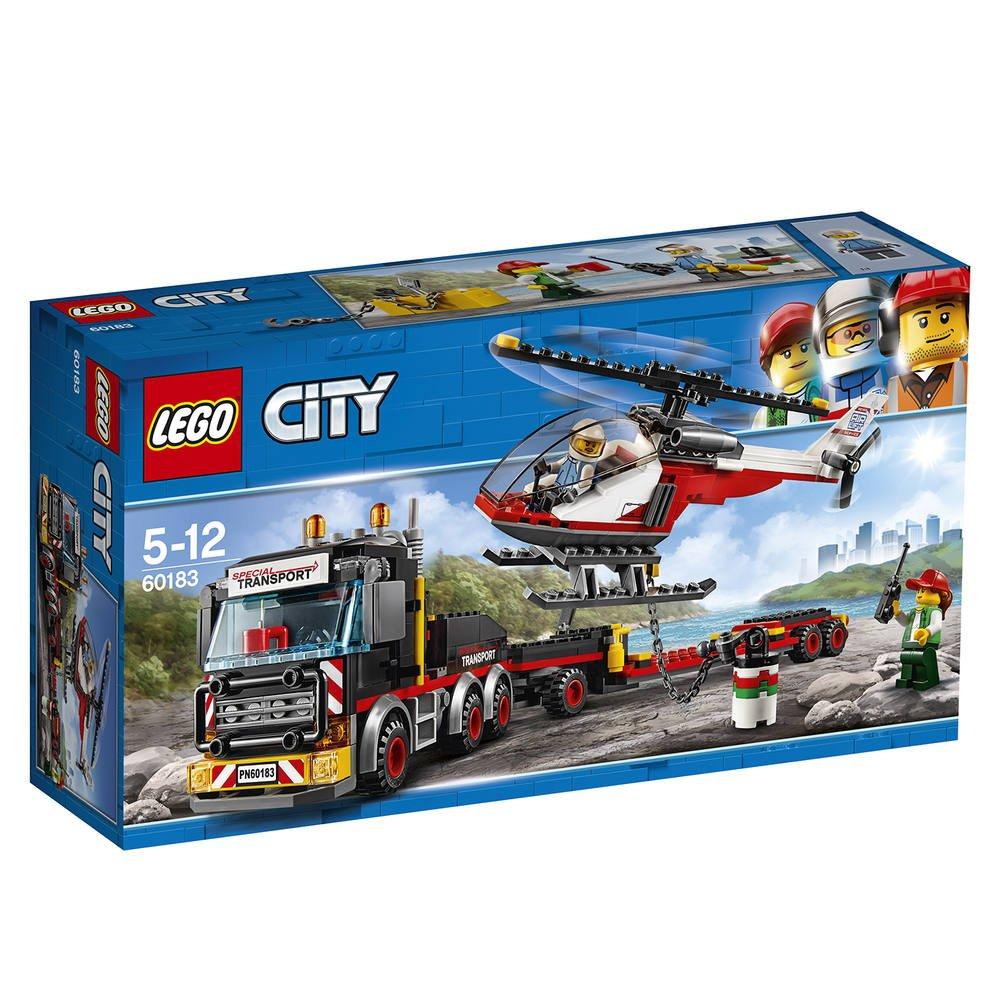 Le De Constructions Transporteur 60183 D'helicoptereJeux Lego BdeCrxo