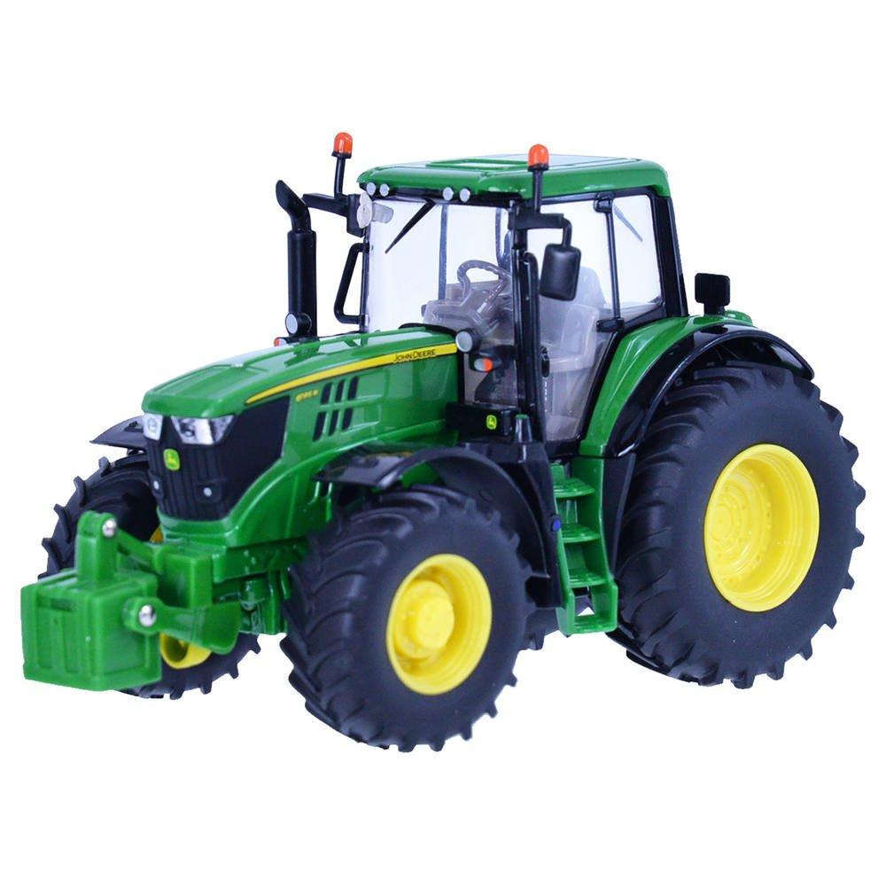 Tracteur John Deere 6195m 1 32eme Vehicules Garages Joueclub