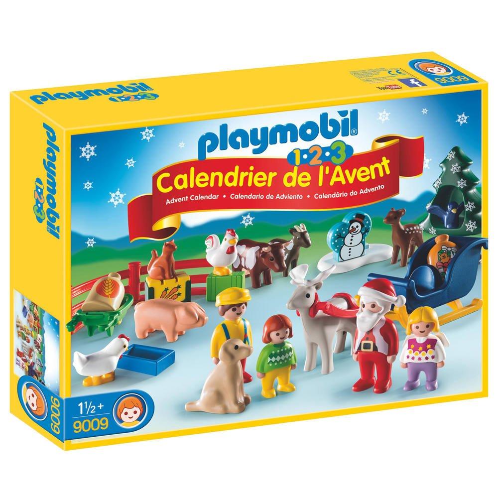 Calendrier L Avent Playmobil.Calendrier De L Avent 1 2 3 Noel A La Ferme