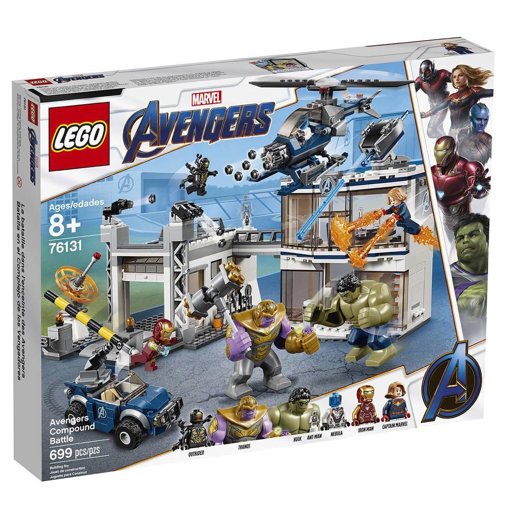 Du L'attaque Des 76131 Avengers MarvelJeux Qg Lego De cTKJFl13u