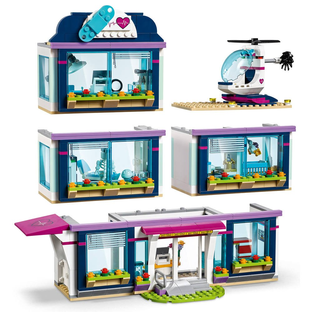 41318 De Constructions Lego D'heartlakeJeux L'hopital WDHE29IY