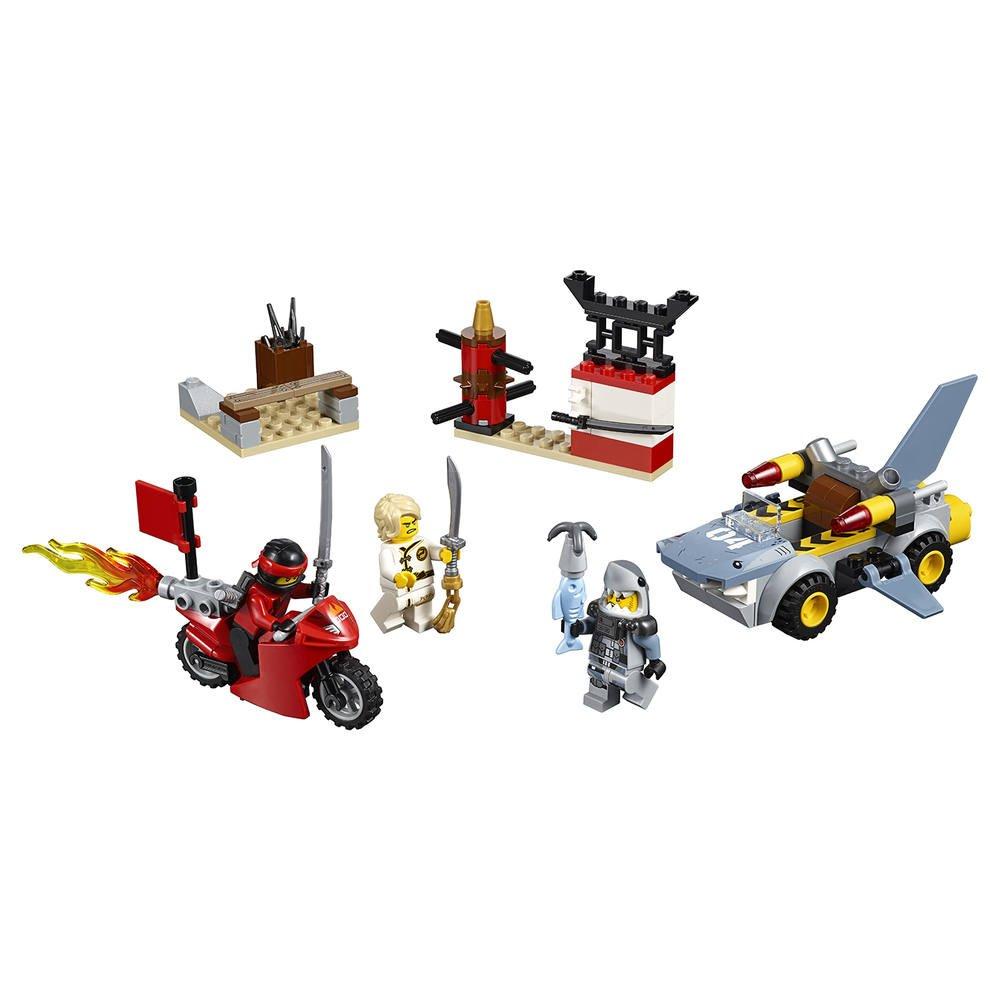 RequinJeux De Constructionsamp; Maquettes Lego L'attaque 10739 Du vmN80nw