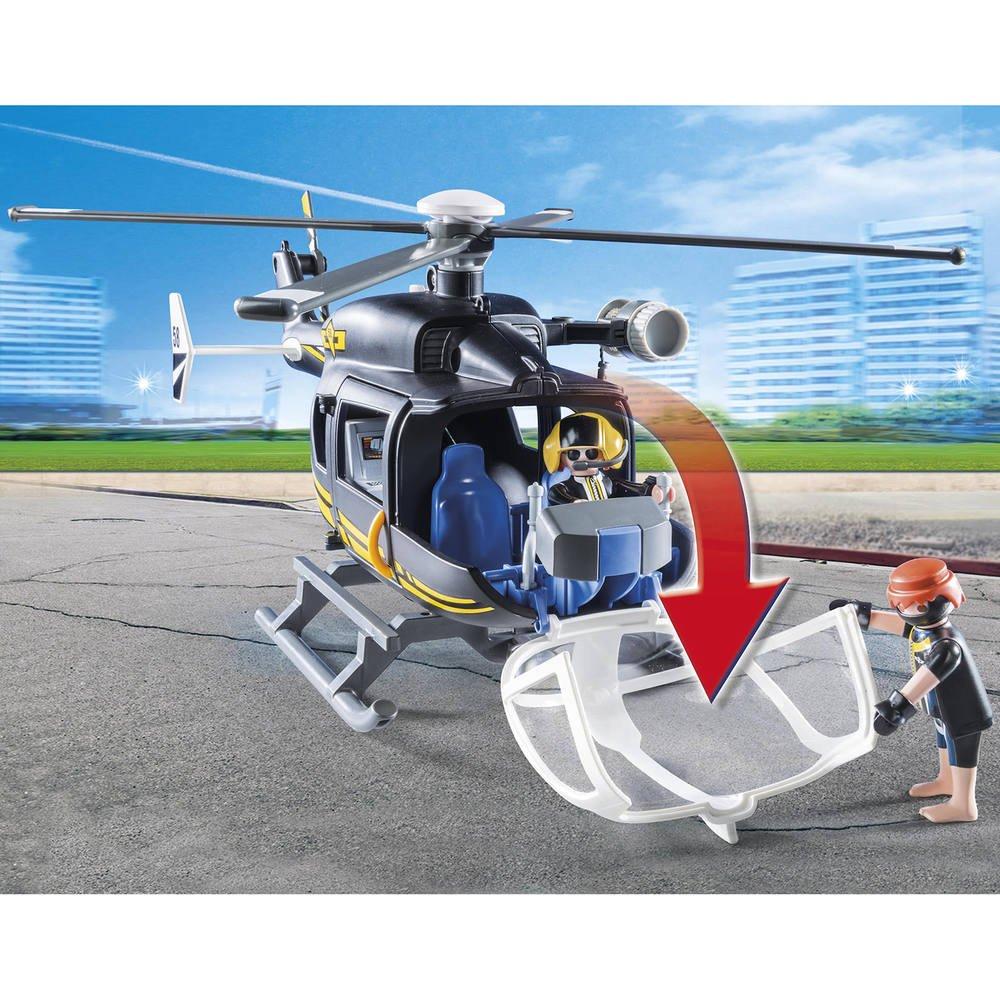 Helicoptere Et Policiers D Elite 9363 Jeux De Constructions