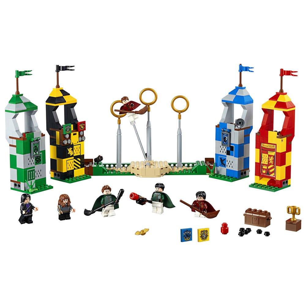 75956 Le Match Lego De Quidditch XOiZuTPk