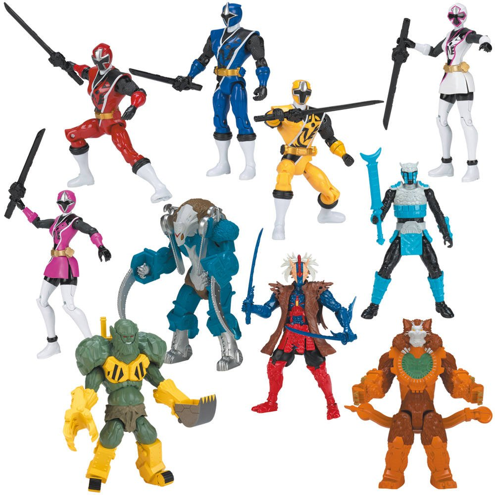 RangersFigurines 12 Jouéclub Power Ninja Steel Figurine Cm VpqzMSU