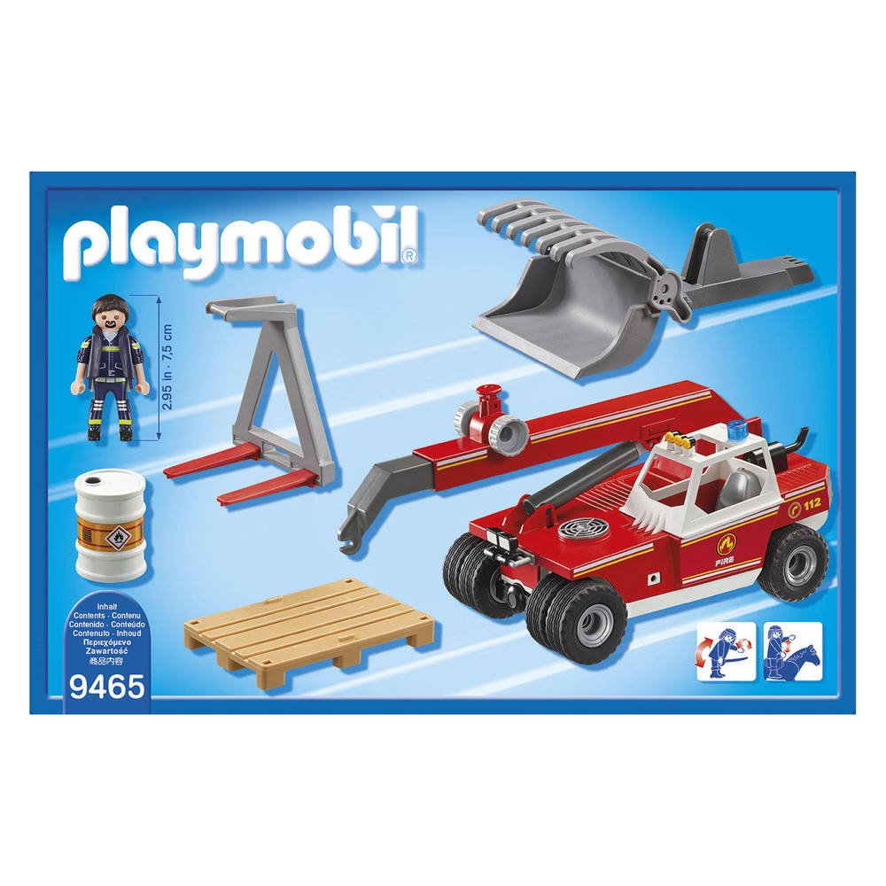 Playmobil blue arm ref 19