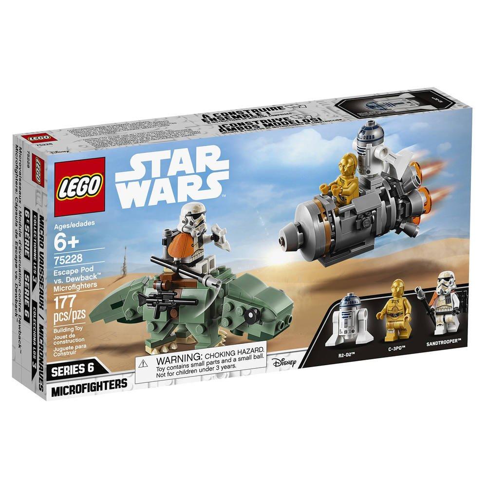 75228 Lego De Microfighter Capsule Contre Dewback Sauvetage DEH9I2