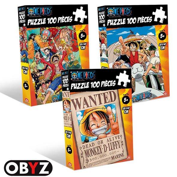 Puzzle 100 Piece 100 PiecesJouéclub One Puzzle PiecesJouéclub One One Piece OuPXTwklZi