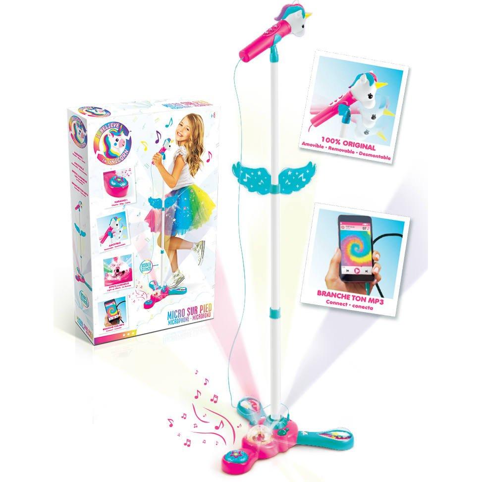 Micro sur pied karaoké jouet Peppa Pig enfant Achat