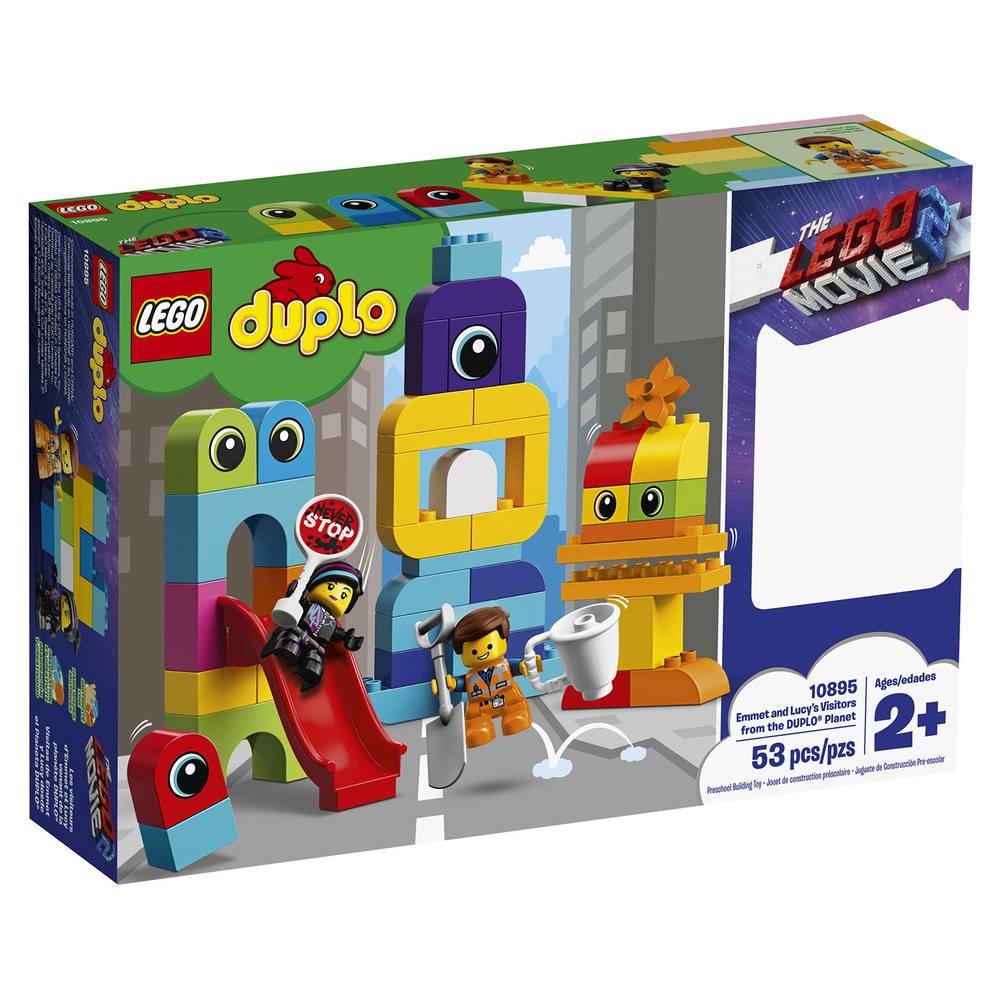 Visiteurs Les Duplo Et D'emmet 10895 De Planète La Lego Duplo® NwO8kn0PX