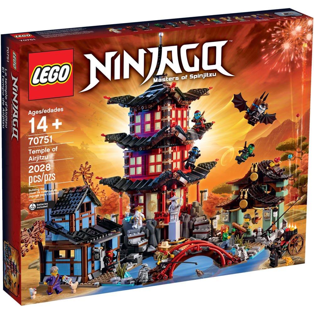 Temple Lego Le L'airjitzu 70751 De WED9IH2