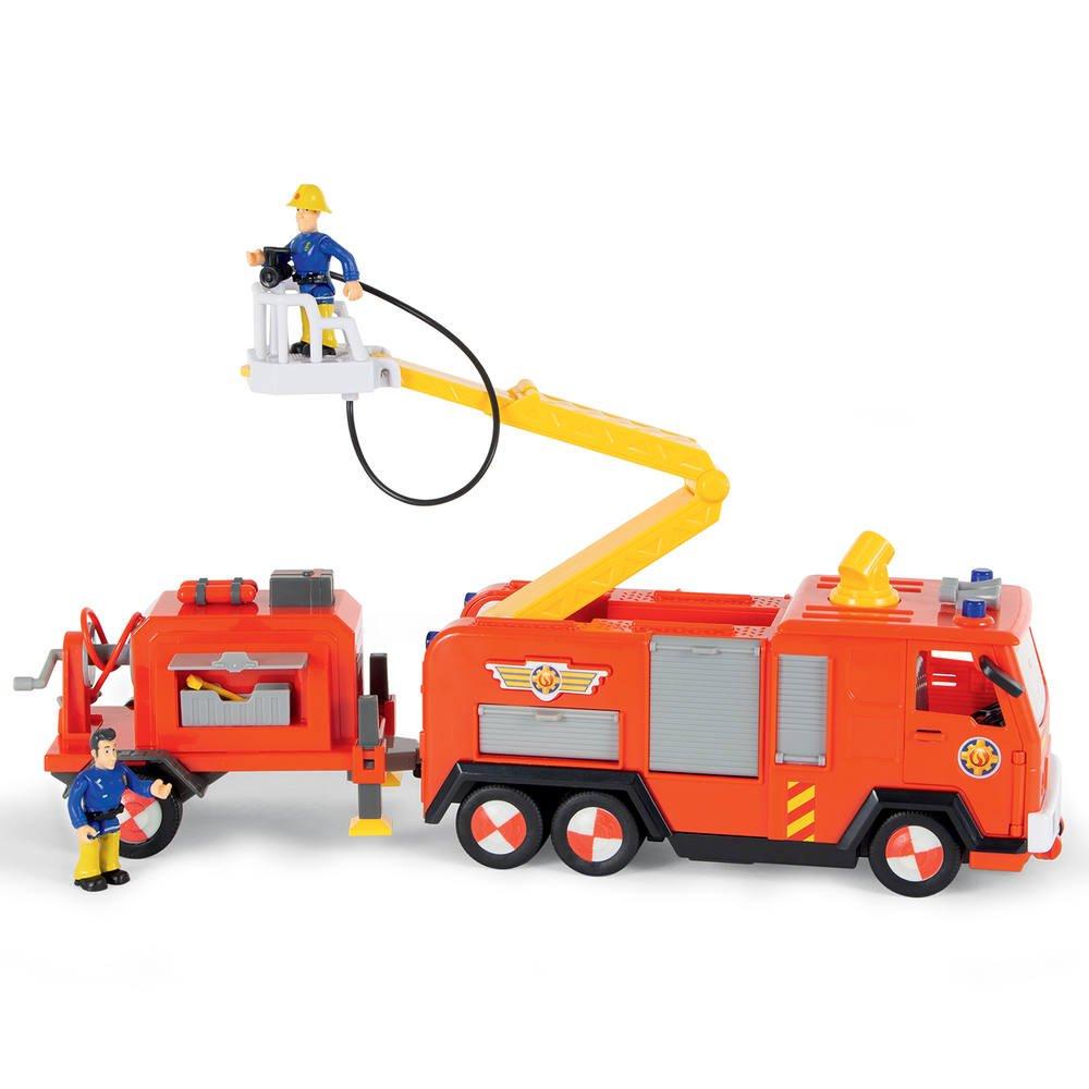 Sam Le Pompier Jupiter Remorque Vehicules Garages Joueclub