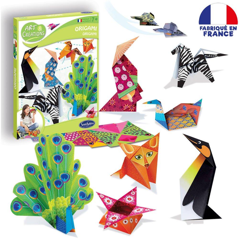 3D PANIER origami creation kit
